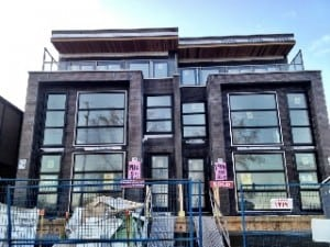 Attached infill home in Calgary