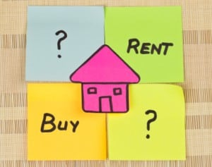 Renting versus owning a home in Calgary
