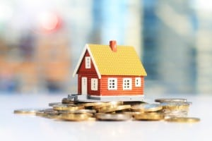 investment property real estate home money coins cash