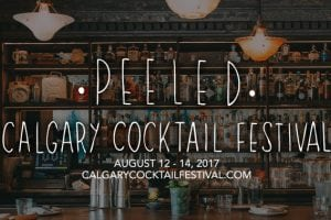 YYC cocktail festival august 2017 banner
