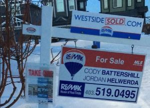 how to use signs to sell your home