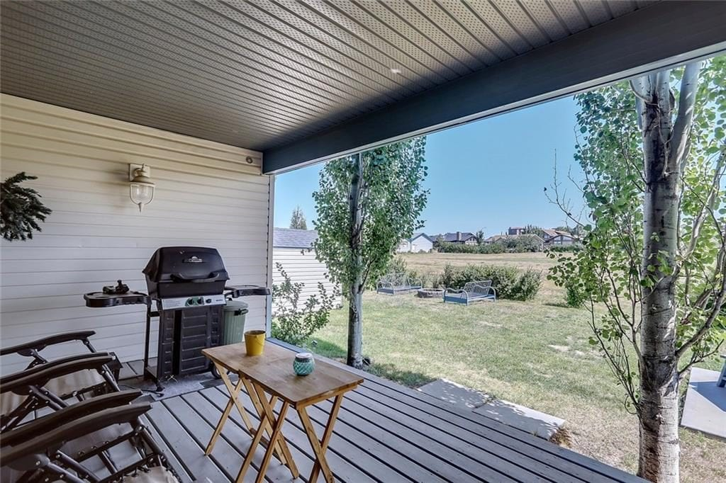vulcan county home for sale little bow resort backyard patio view
