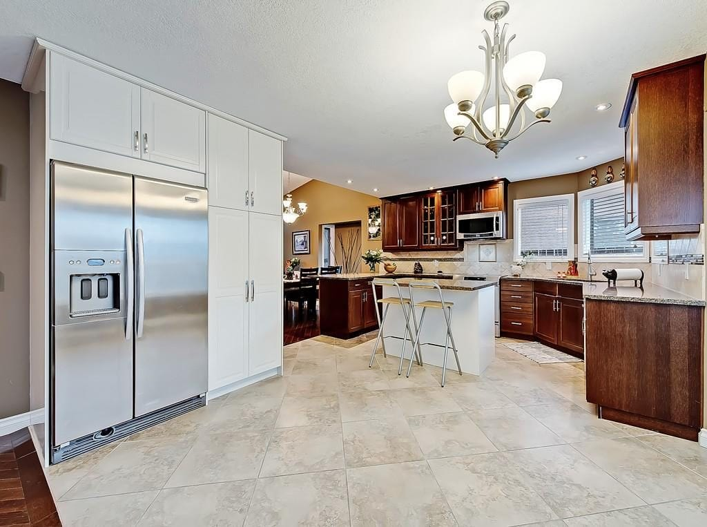 kitchen view hawkwood home for sale best calgary homes